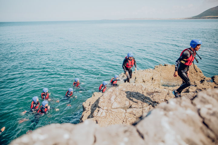 Run to Coasteering