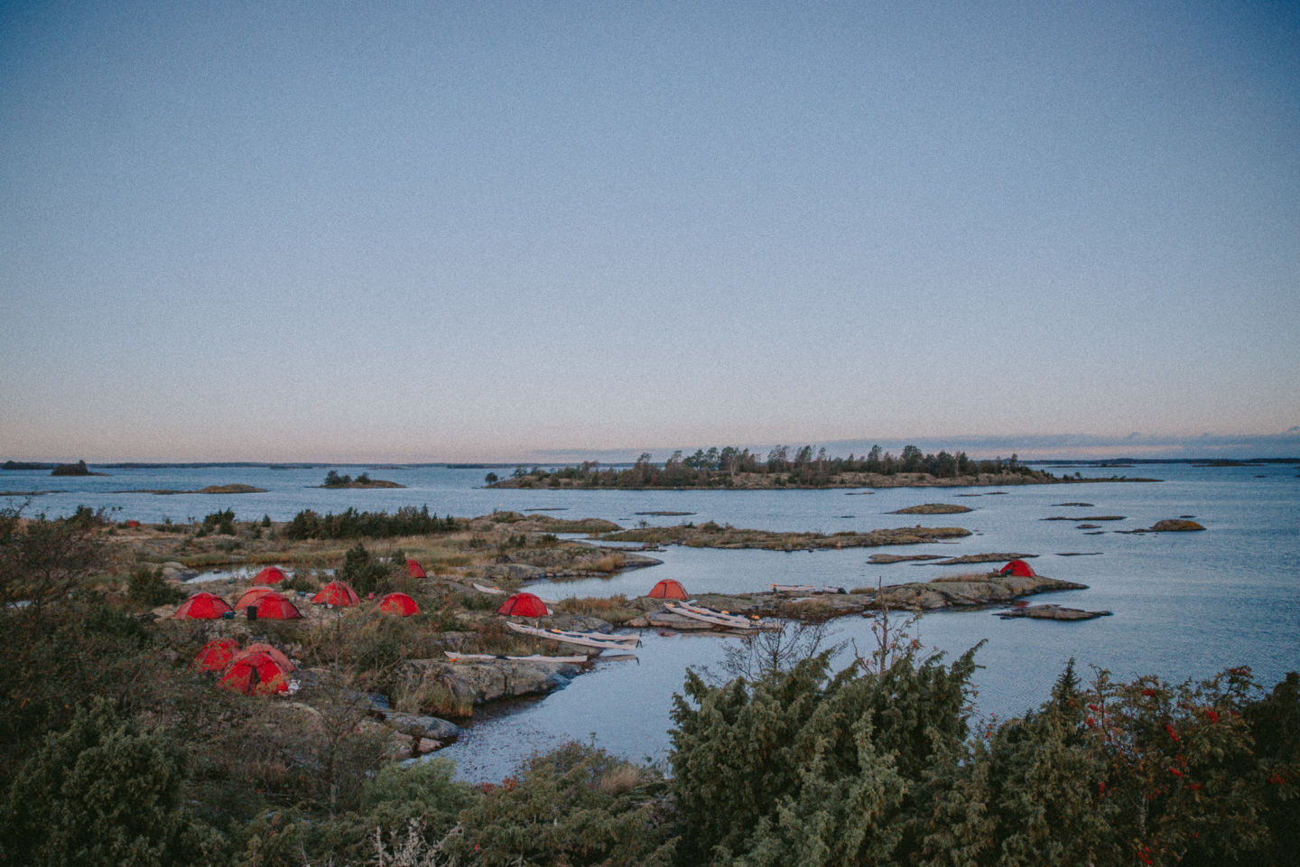 Wild camping in the Swedish Archipelago