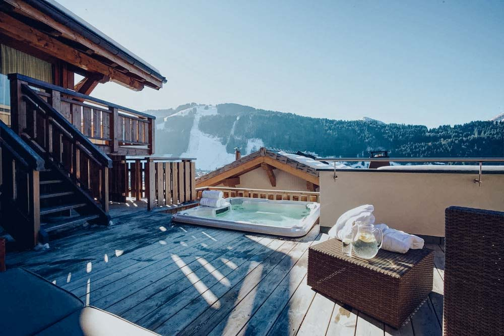 Chalet Bouquetin Hot Tub