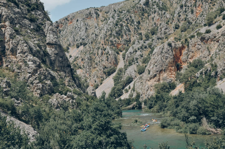 Croatian gorges