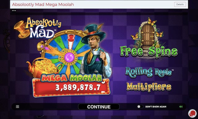 Absolootly Mad – Mega Jackpot close to 4 Million Euros