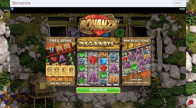 First Megaways Slot – Bonanza by Big Time Gaming