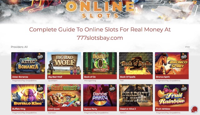 Online Slots Category