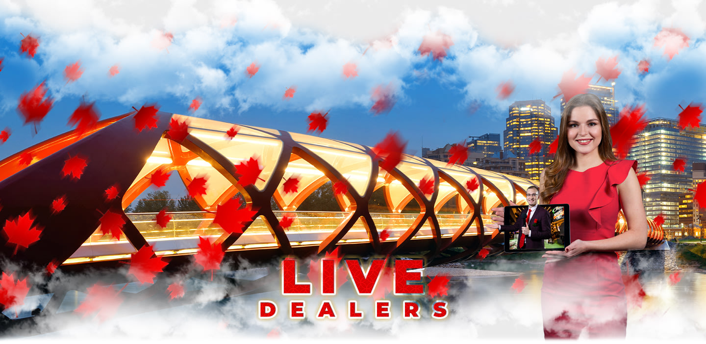 Live Dealers Section