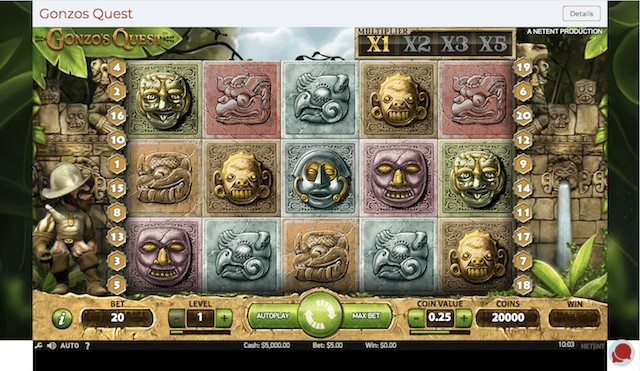 Gonzo's Quest Stunning Graphic – Free 3D Slots Play