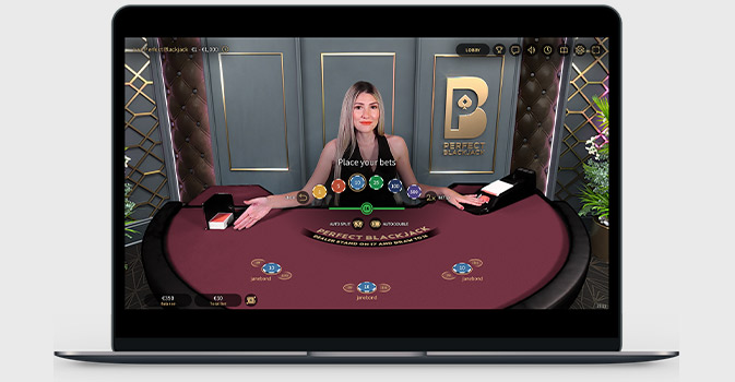 Online Blackjack by NetEnt