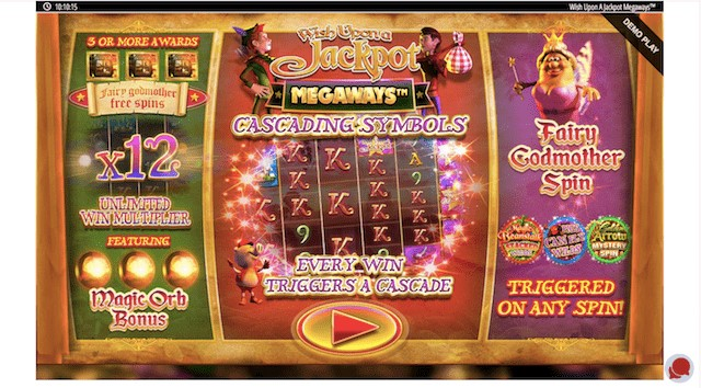 Wish Upon A Jackpot Megaways Features