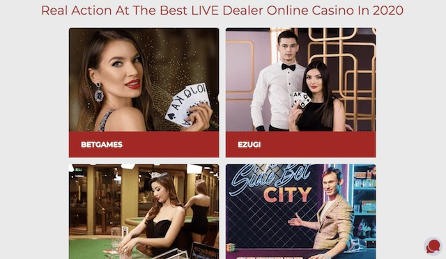 Best Live Dealers Online