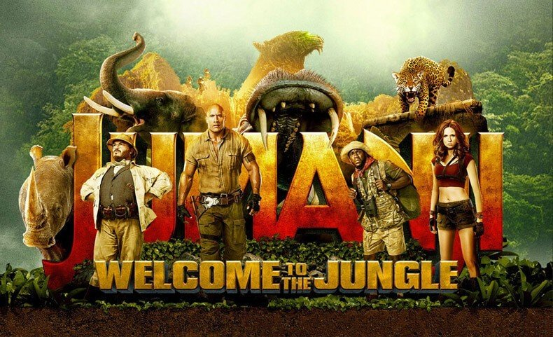 Cover Image for Jumanji: Welcome to the Jungle Soundtrack Lyrics