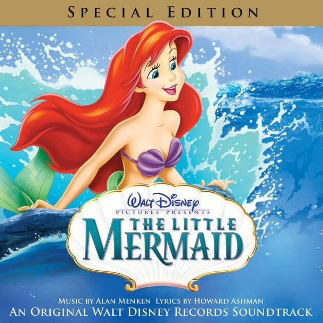 Cover Image for The Little Mermaid Soundtrack Lyrics