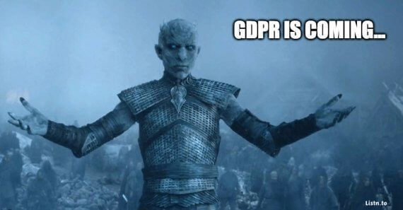 GDPR is comming