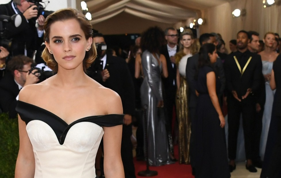 Emma Watson wears sustainable Calvin Klein dress made from recycled plastic bottles at Met Gala