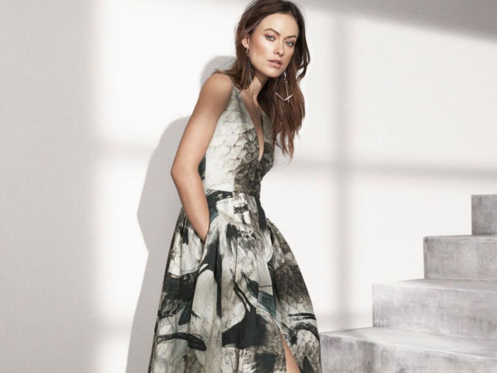 "Olivia Wilde pioneers H&M ""Conscious Exclusive"" sustainable clothing line"