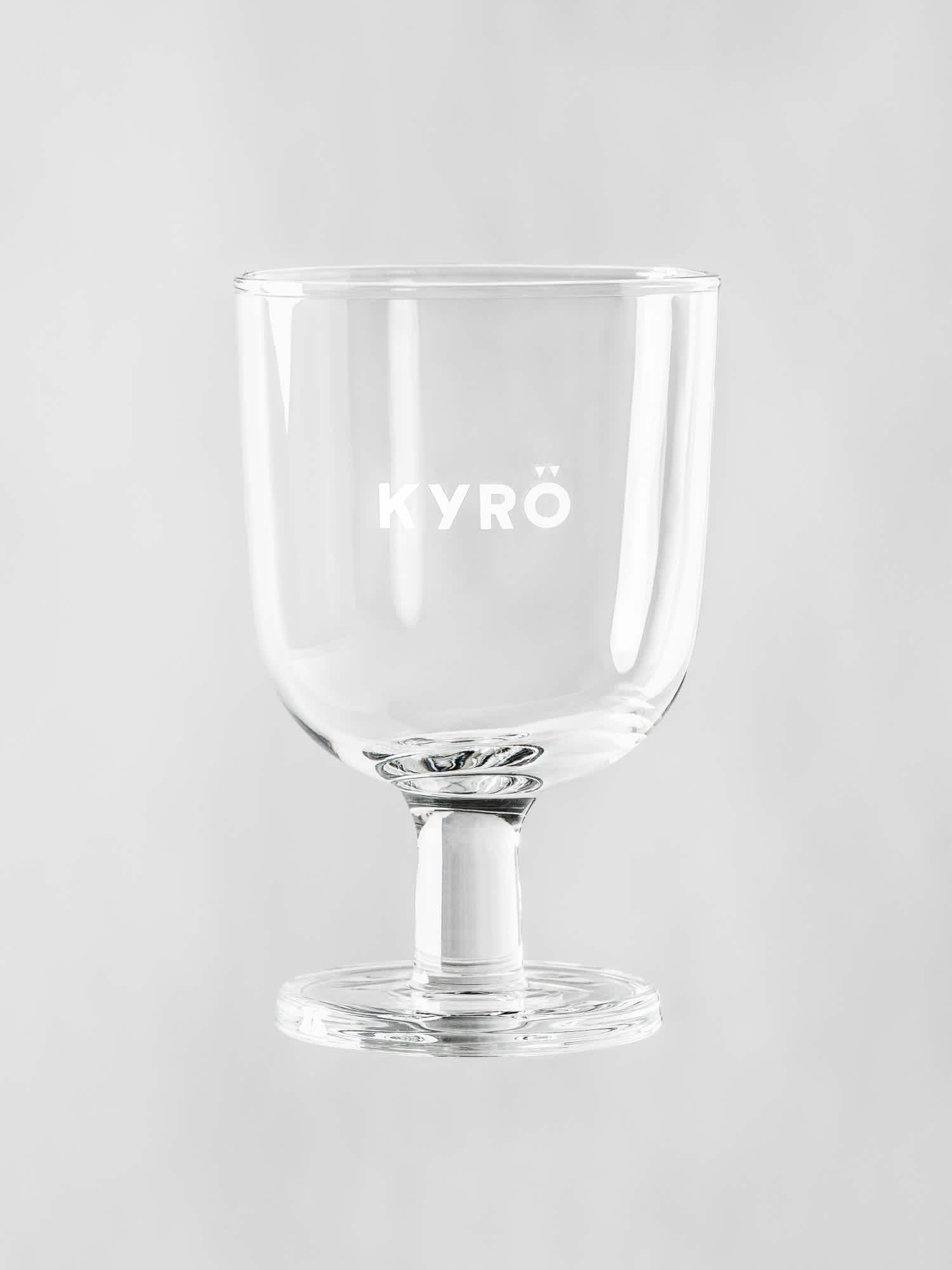 Kyrö branded cocktail glass