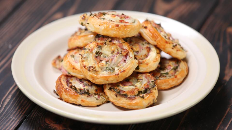 Cheese And Bacon Swirls Recipe Tastemade