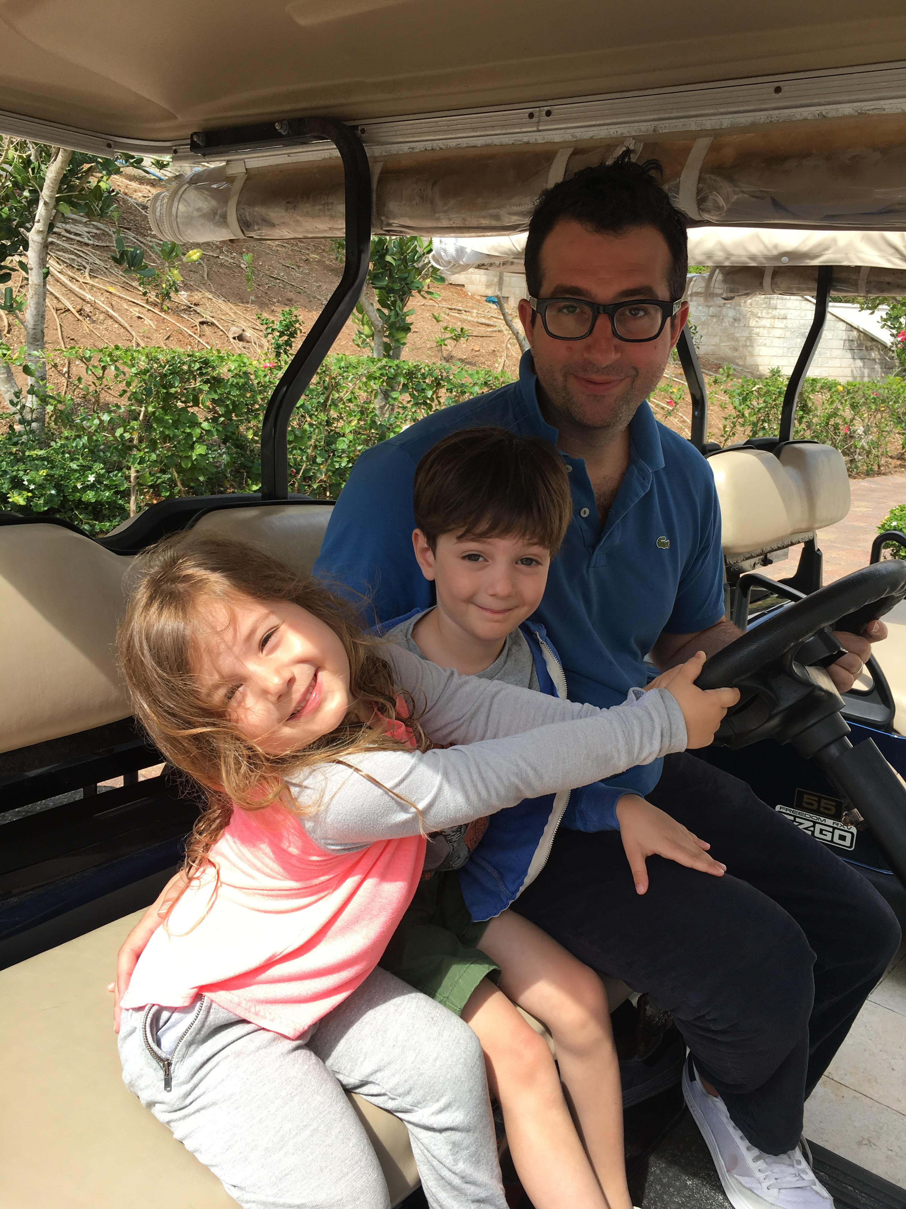 Jeff with Kids