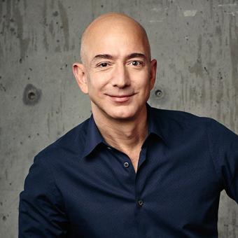 Amazon CEO Jeff Bezos and brother Mark give a rare interview