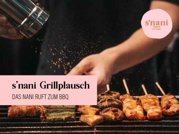 s'nani Barbecue Party - The Nani calls for a BBQ