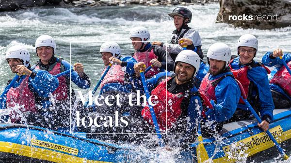Meet the locals - Swiss River Adventures