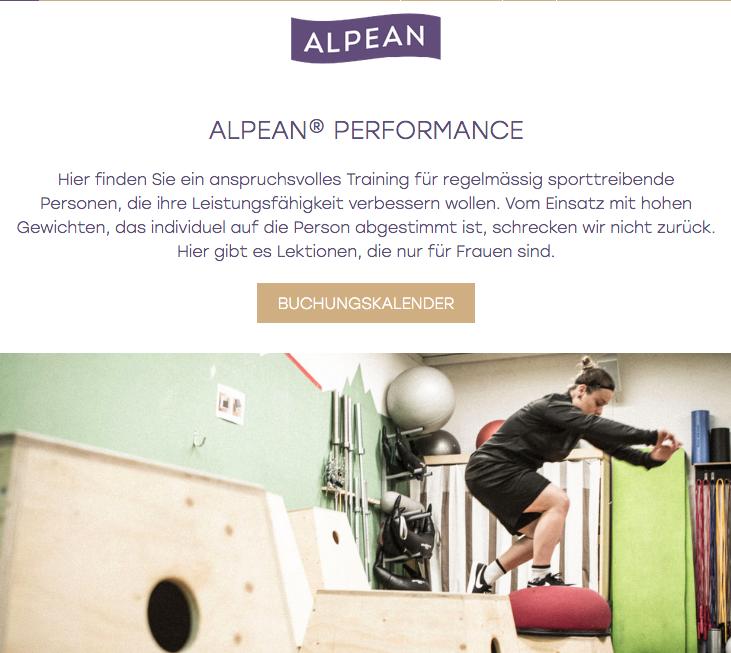 ALPEAN Performance Women
