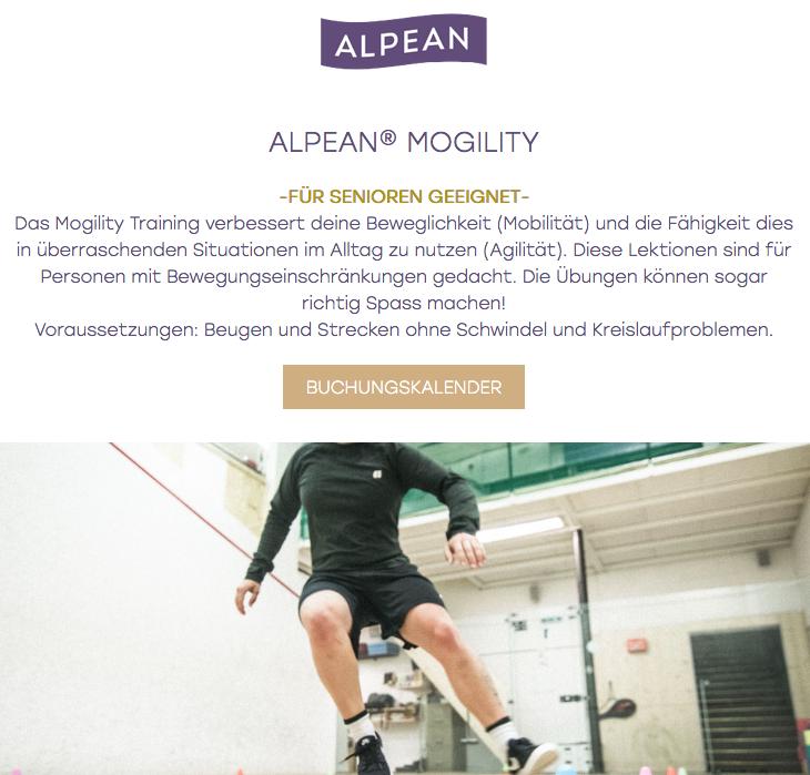 ALPEAN Mogility