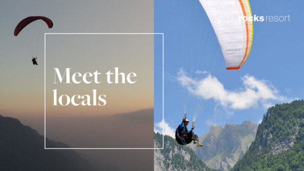 Meet the locals - Paragliding with Air Active