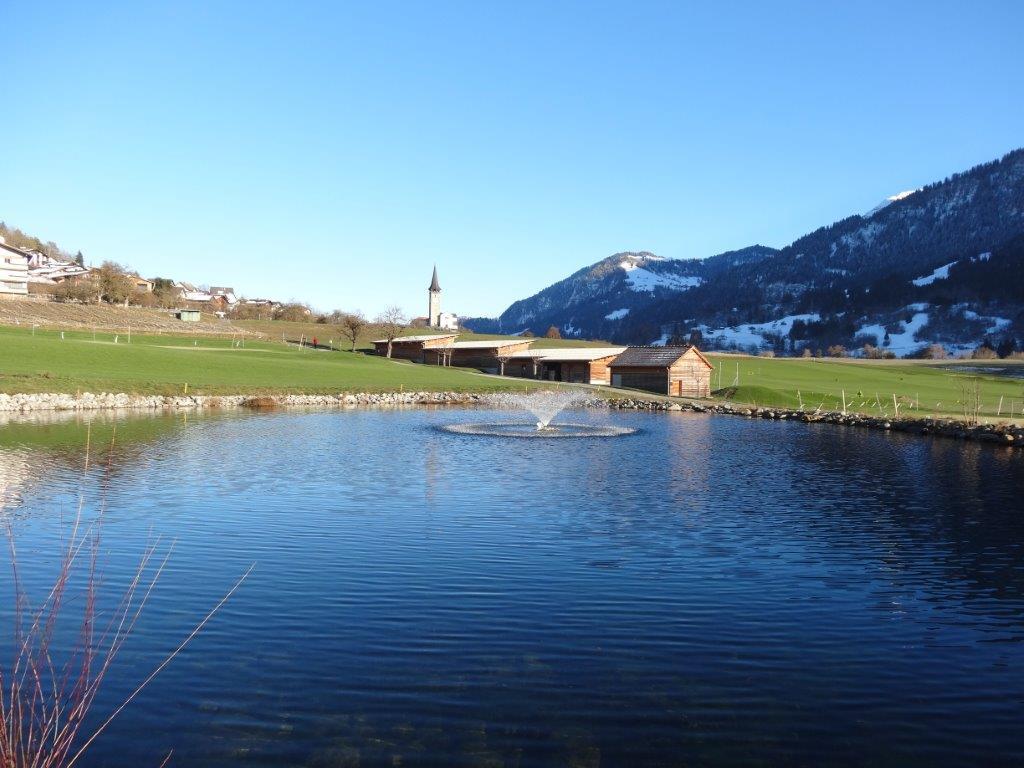 Golf taster course in Sagogn