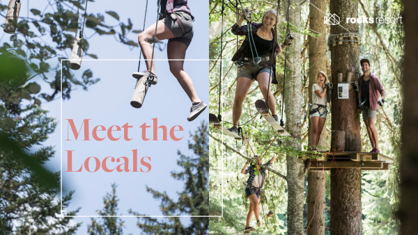 Meet the locals- High rope park Flims