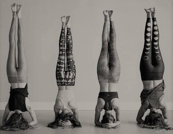 "Yoga Workshop ""upside DOWN"""