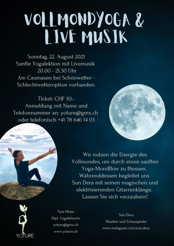 Fullmoon Yoga with live music