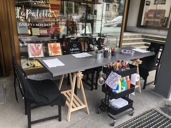 Outdoor Art Studio