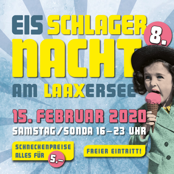 Schlager Night at Lake Laax