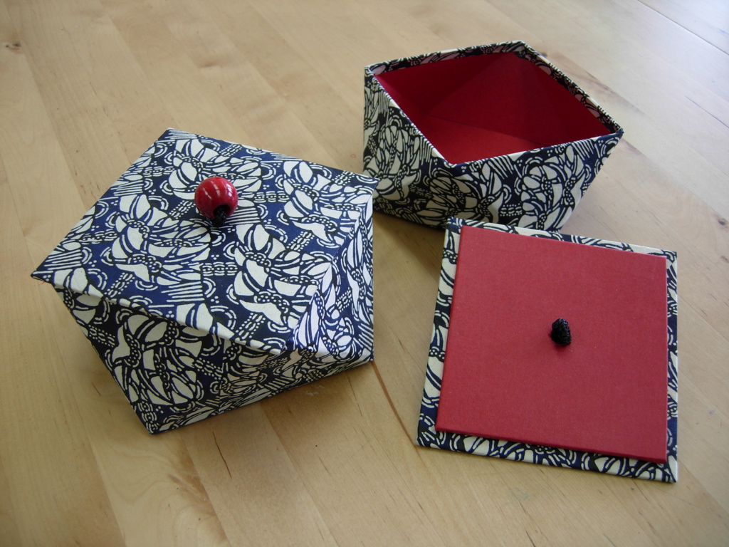 Japanese Boxes Workshop (from age 14)