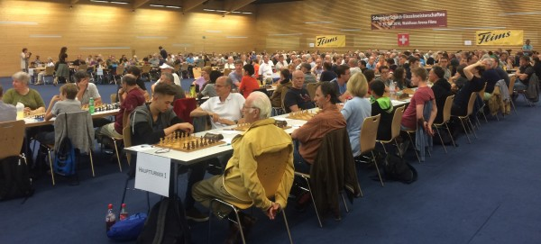 Chess - Swiss Championship individually