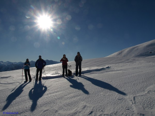 Daily guided snowshoe hikes