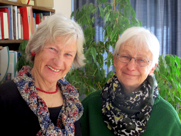 Two women tell stories of women's lives