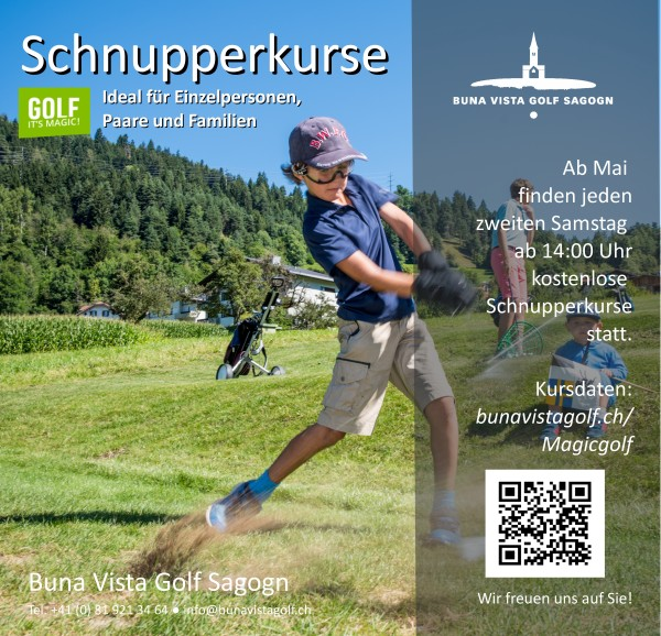 Taster Golf Lesson 2021 - free of charge