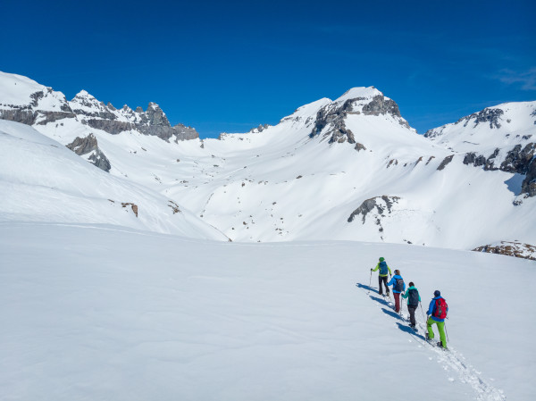 World Heritage Sardona Snowshoe Experience