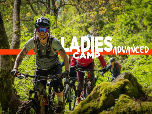 MTB Ladies Only Camp Advanced incl. Accom. & HB