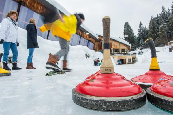 Fun tournament bavarian curling