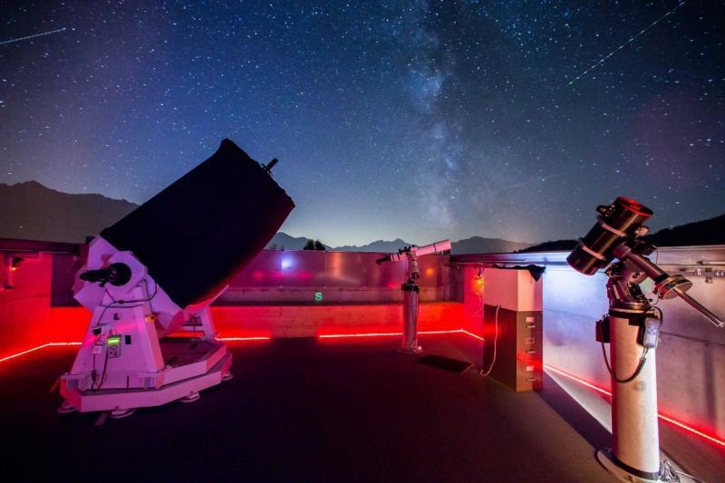 Telescope meeting Mirasteilas Falera