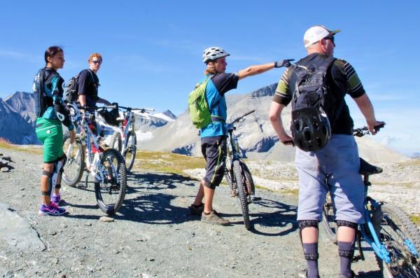 UNESCO-E-Bike-Tour: Laax-Grauberg with GeoGuide