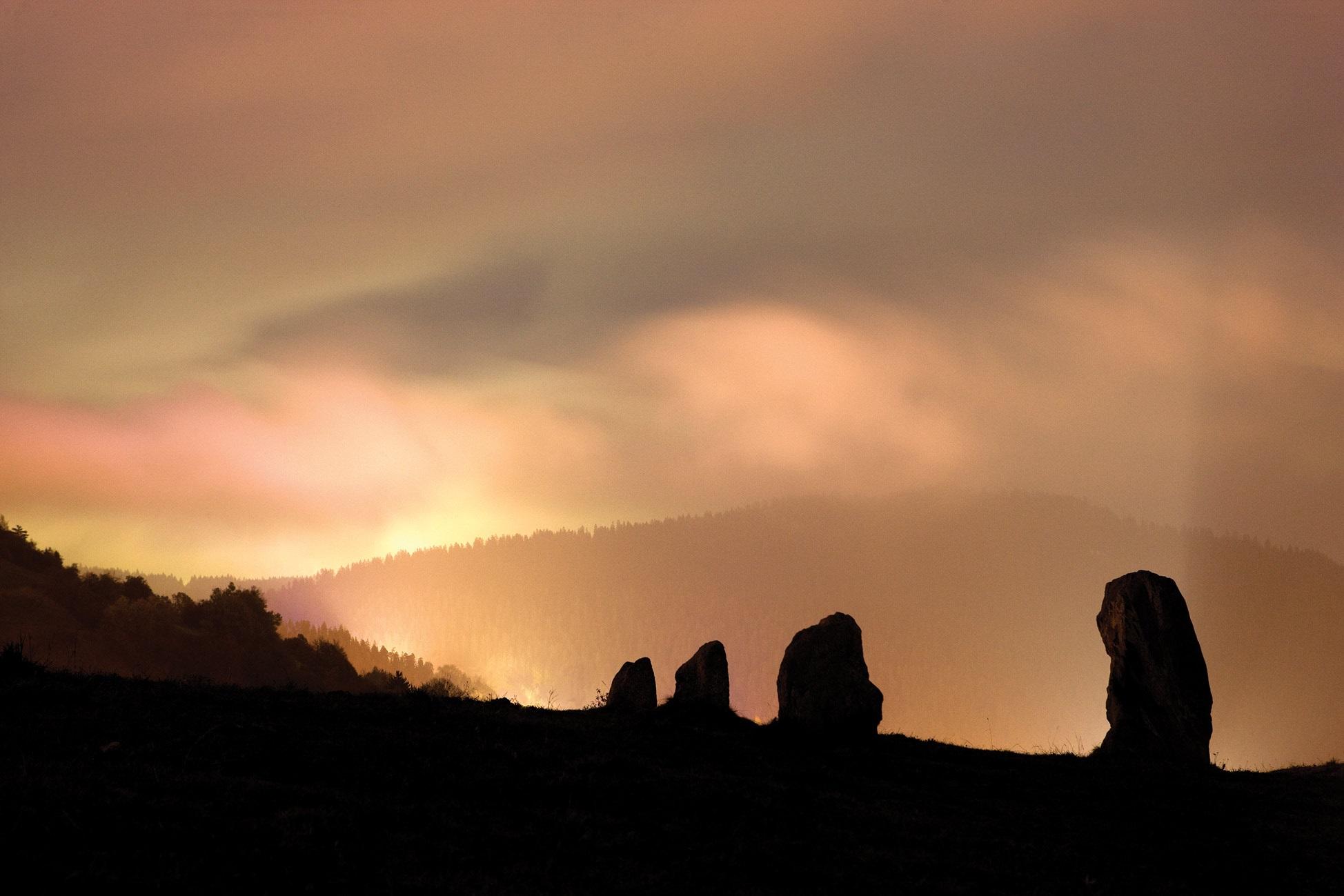 Sonnenaufgangsführung durch den Parc La Mutta Falera