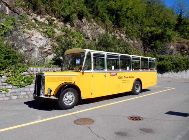 "flimsfestival - 100 years of ""Postauto"" between Tamins and Flims"