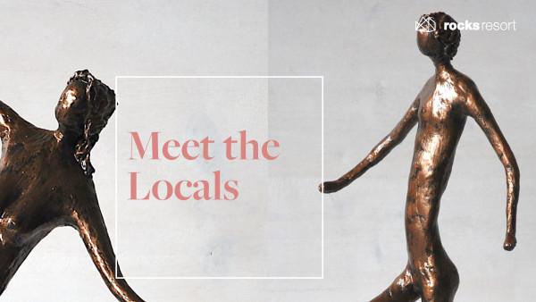 Meet the locals - Rinaldo Collenberg sculptures