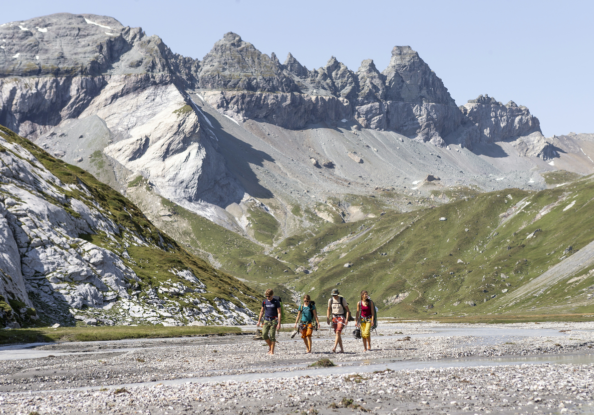 Unesco-Welterbe Sardona erleben