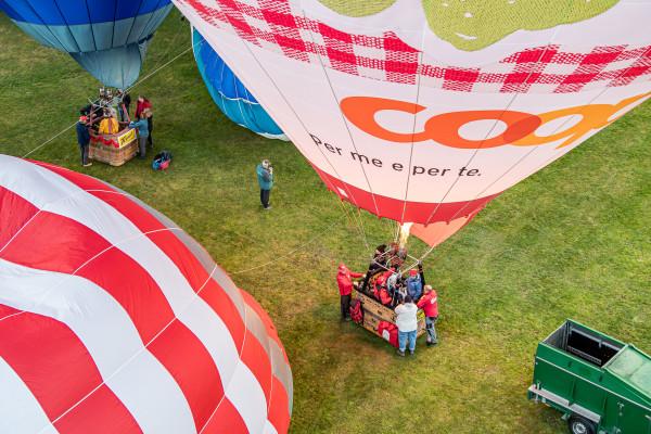 48. Intl. Alpine Heissluftballonwoche Flims