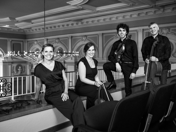 string quartet and saxophon