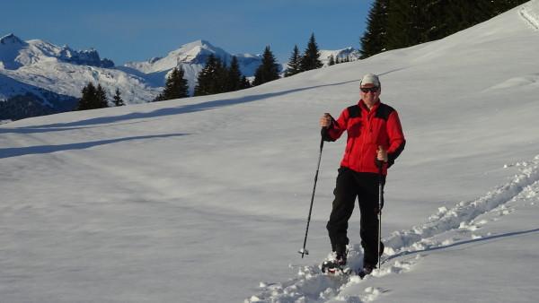 Snowshoe tour with GeoGuide - Alp da Riein