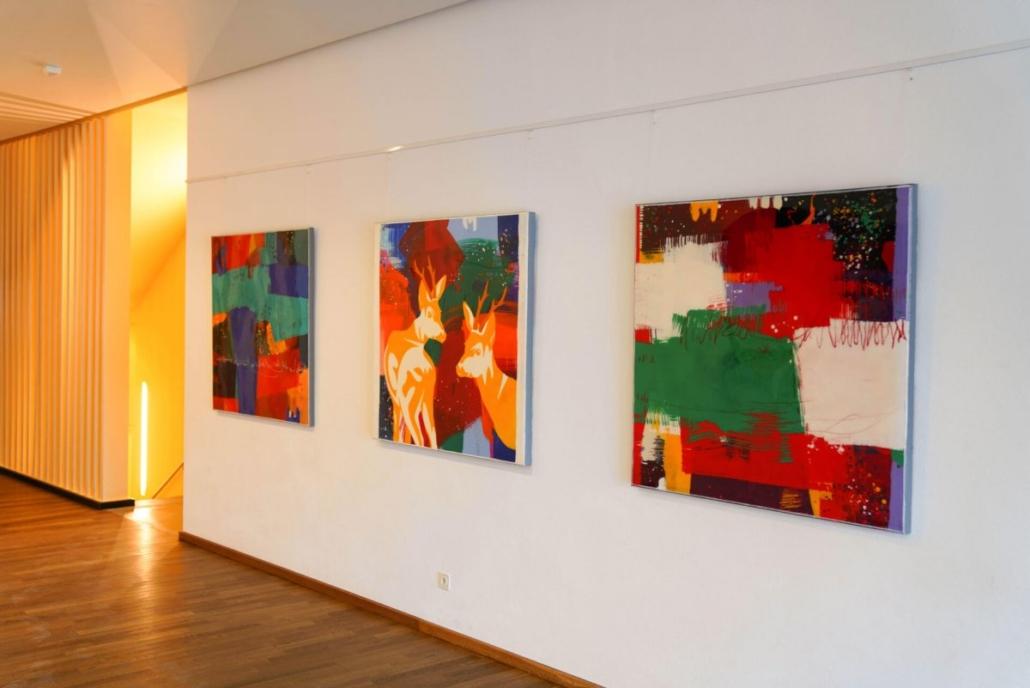Vernissage art exposition